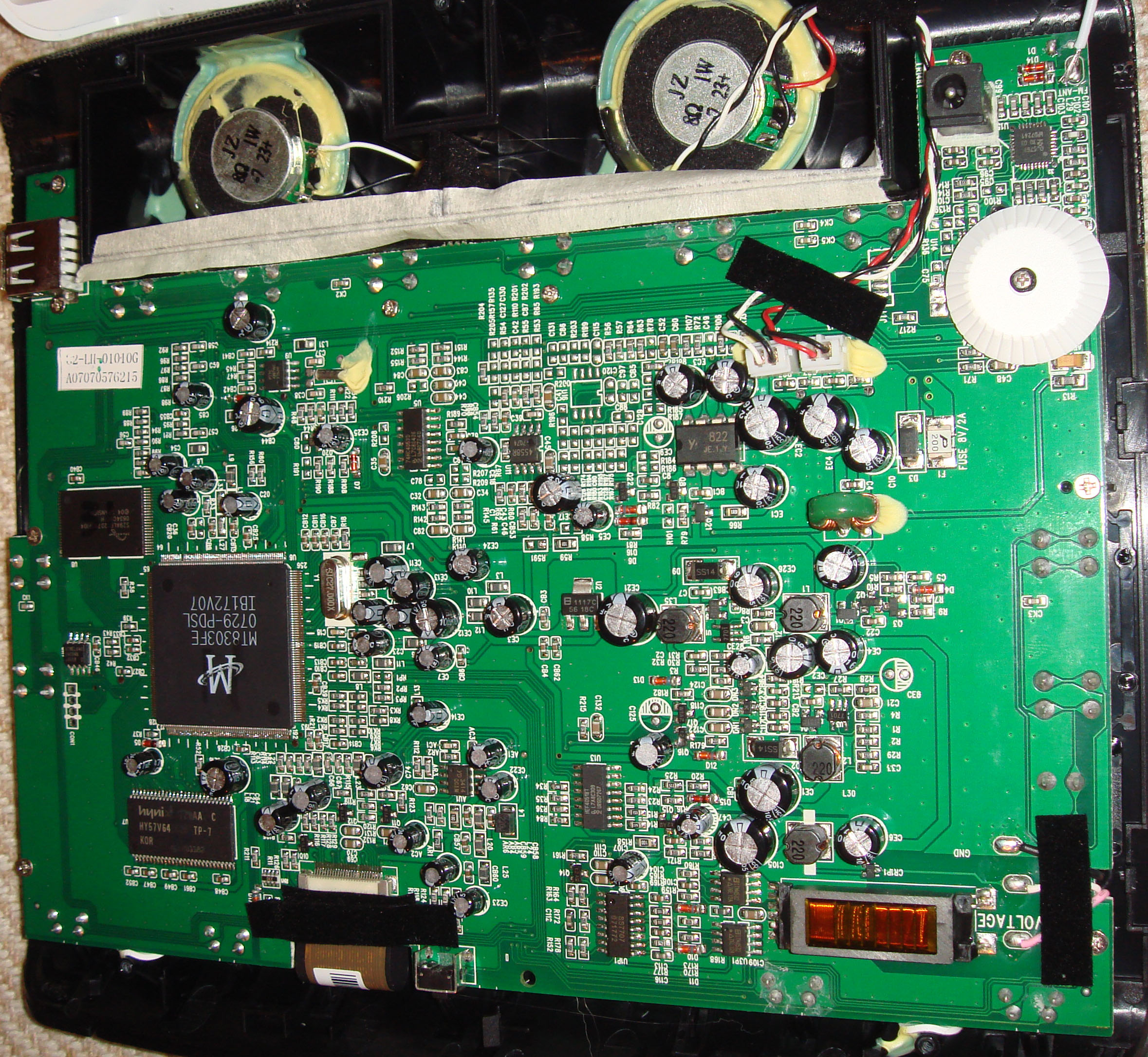 Bunnies Blog Of Green Electronic Circuit Tracks And Pathways Photo Title Im Guessing This Ware Shouldnt Be Too Hard However If Anyone Happens To Know Where I Can Get A Datasheet For The Mt8303 Chip On Pcb Id Appreciate